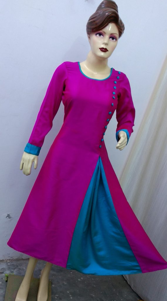 latest gown dress, gown dress cutting and stitching, gown kurti, gown cutting and stitching, gown kurti cutting