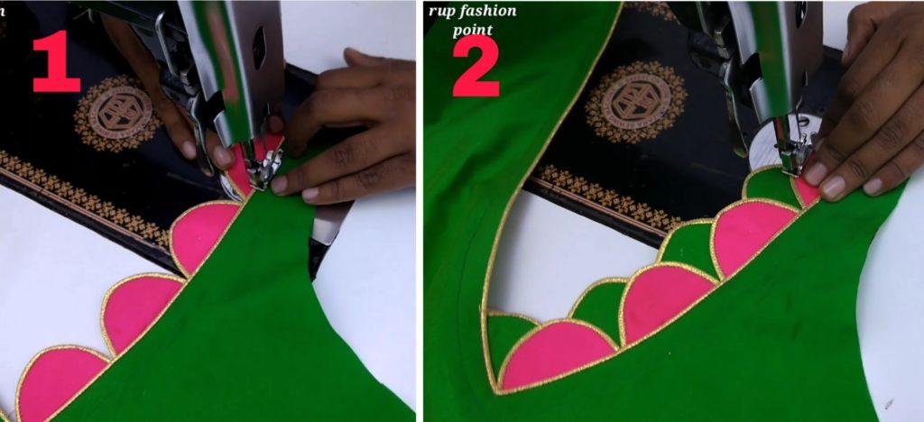 creative neck design, creative neck design making easy, easy neck design making, creative neck design making easy