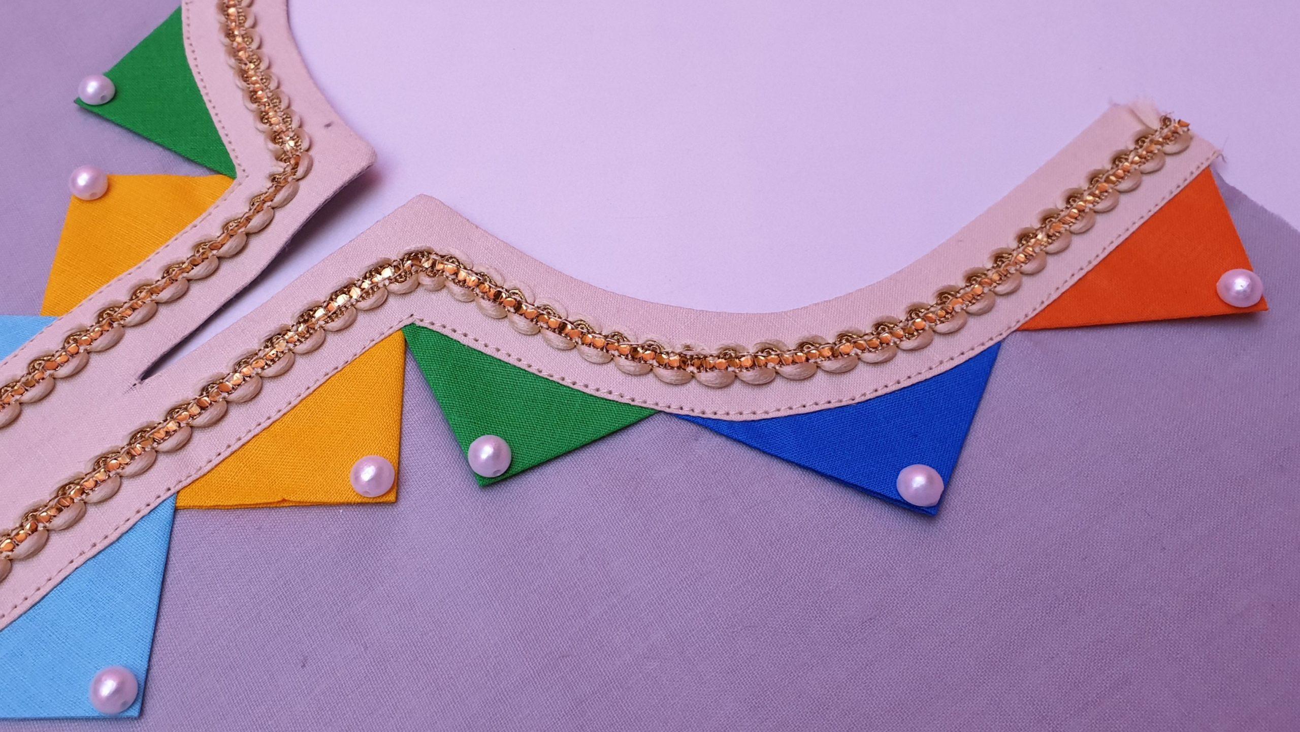 Elegant Neck Design Cutting For Graceful Kurti Look