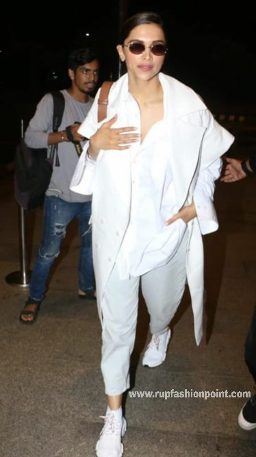 Deepika In Sizzling White Outfit
