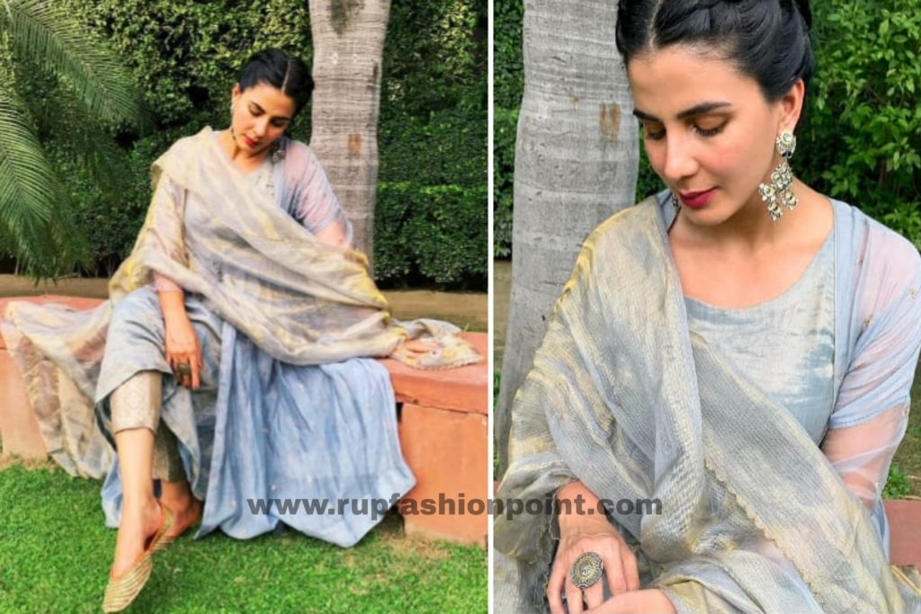 Kirti Kulhari In Traditional Outfit