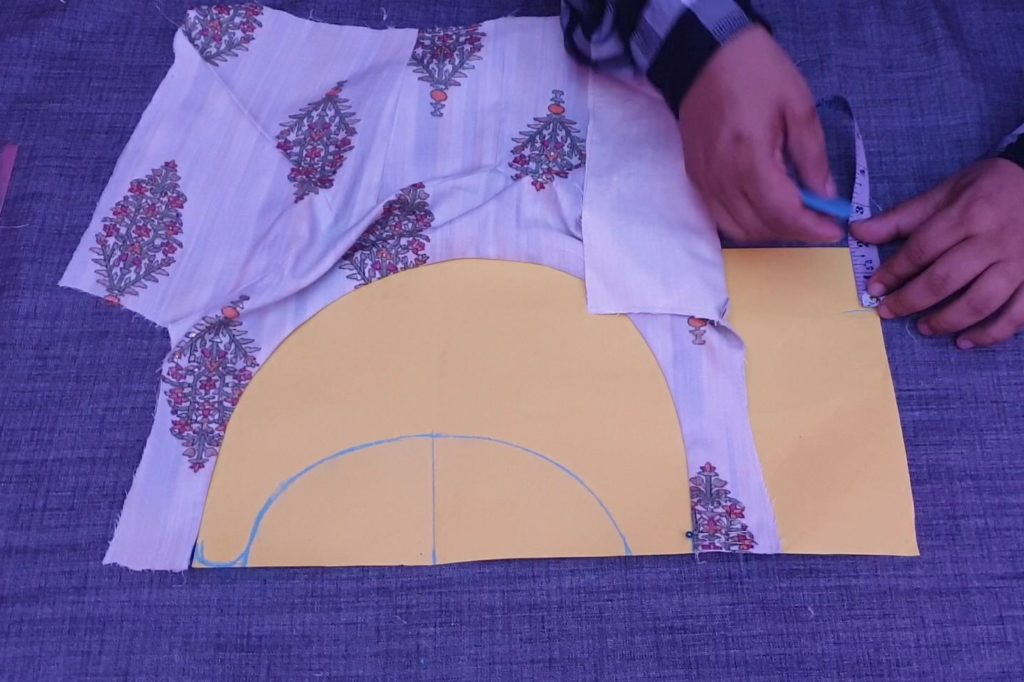 Most Impressive Designer Saree Blouse Cutting and Stitching