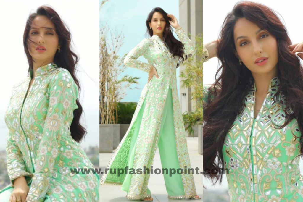 Nora Fatehi In Her Eid Special Outfit