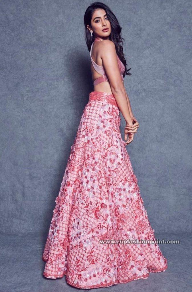 Pooja Hegde in Manish Malhotra