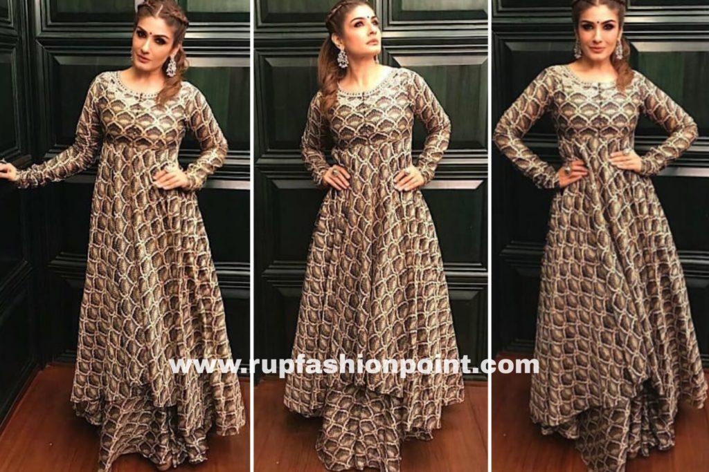Raveena Tandon in an Indian Look