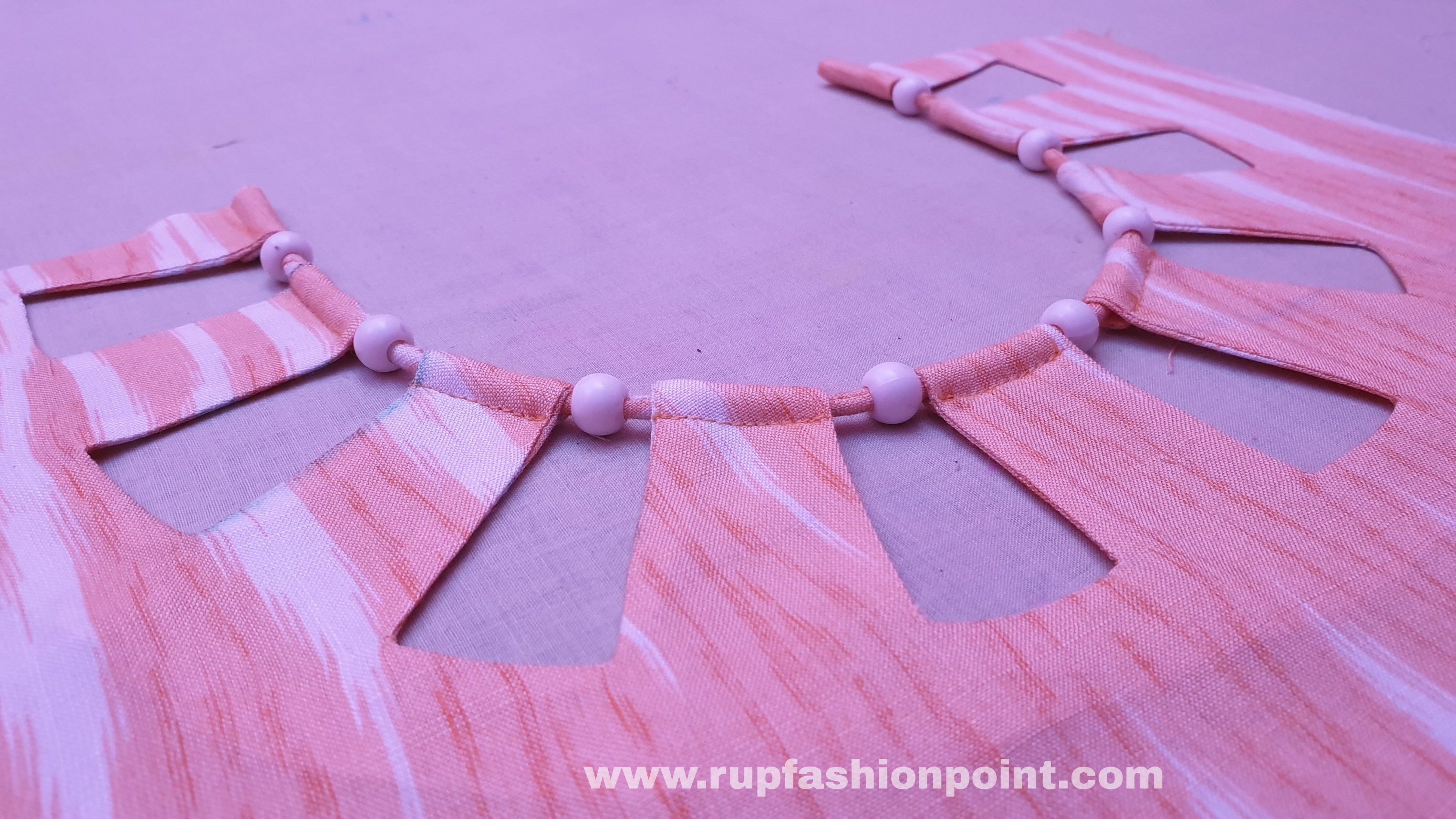 Creative Neck Design Cutting And Stitching Rup Fashion Point
