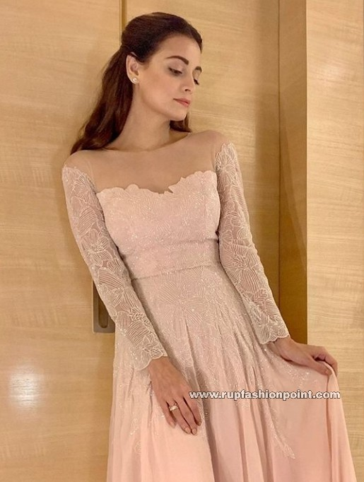 Dia Mirza in a Dreamy Outfit
