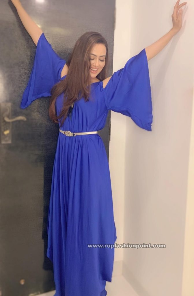 Sana Khan in Zeba