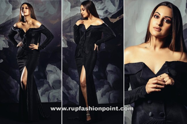 Sonakshi Sinha in a Glorious Black Outfit