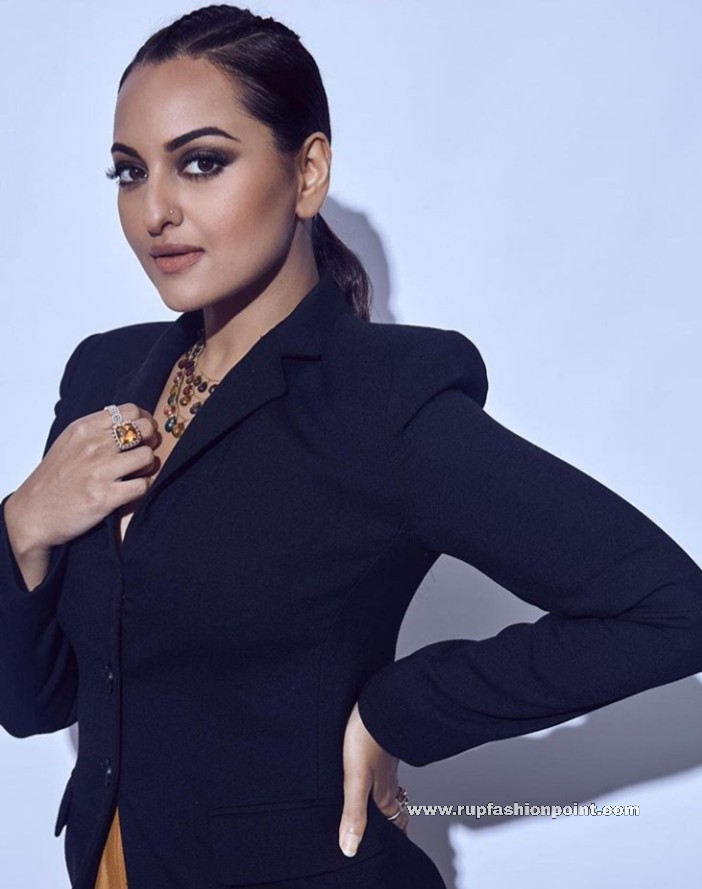 Sonakshi Sinha in a Powerful Edgy Look