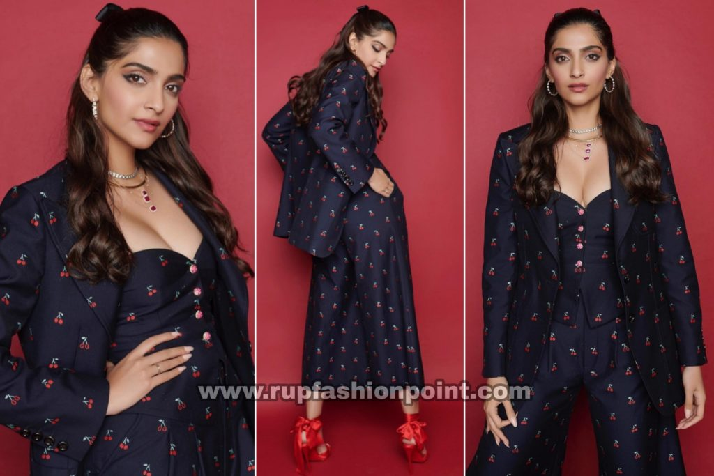 Sonam K Ahuja in Gucci and Christian Louboutin