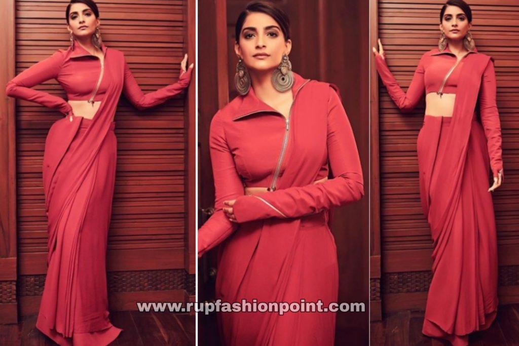 Sonam Kapoor Ahuja in Rishta by Arjun Saluja