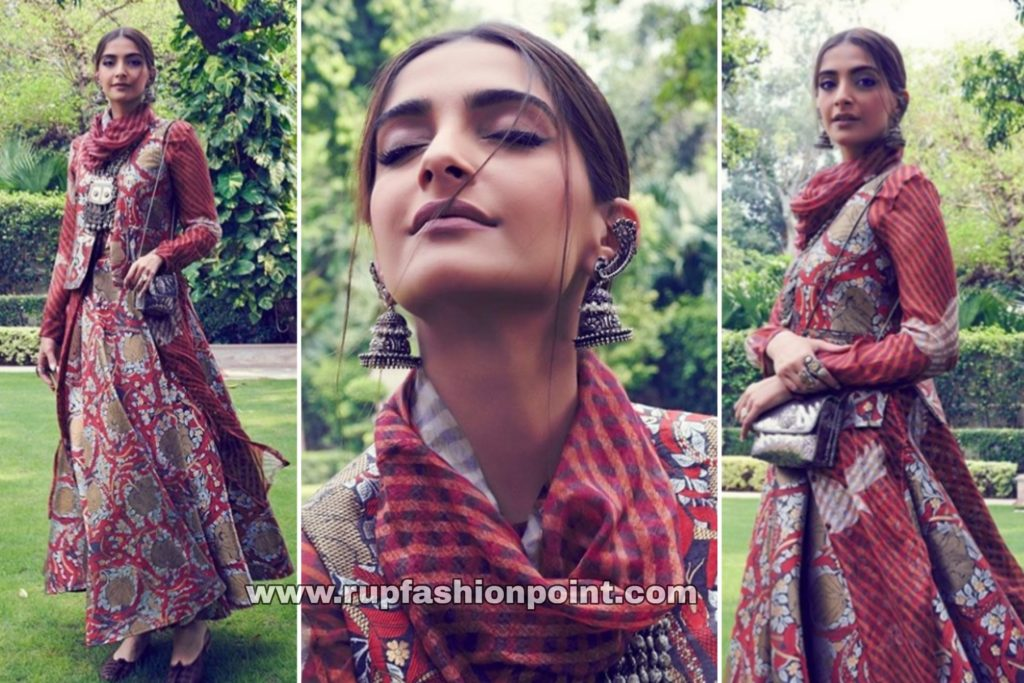 Sonam Kapoor Ahuja in Yet Another Red Attire