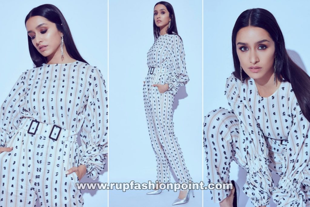 Stunning Shraddha Kapoor in a Monochromatic Outfit