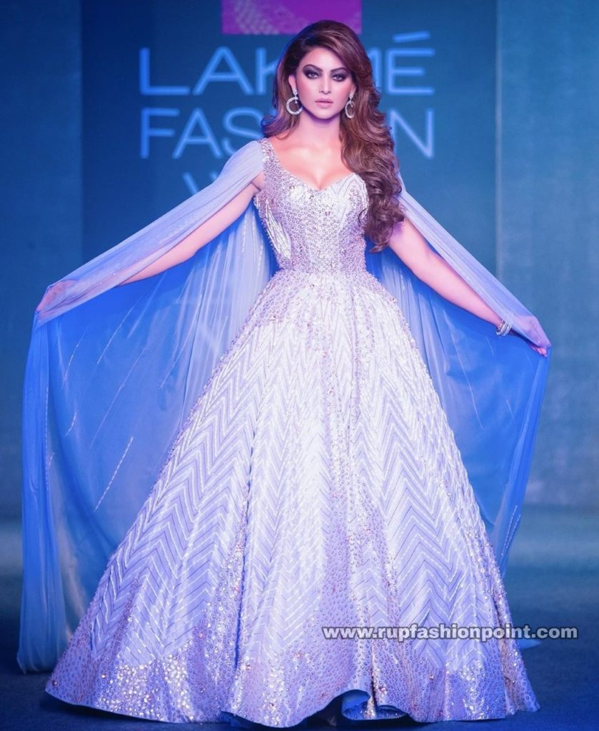 Urvashi Rautela, The Stunner in a Fairy Tale Gown