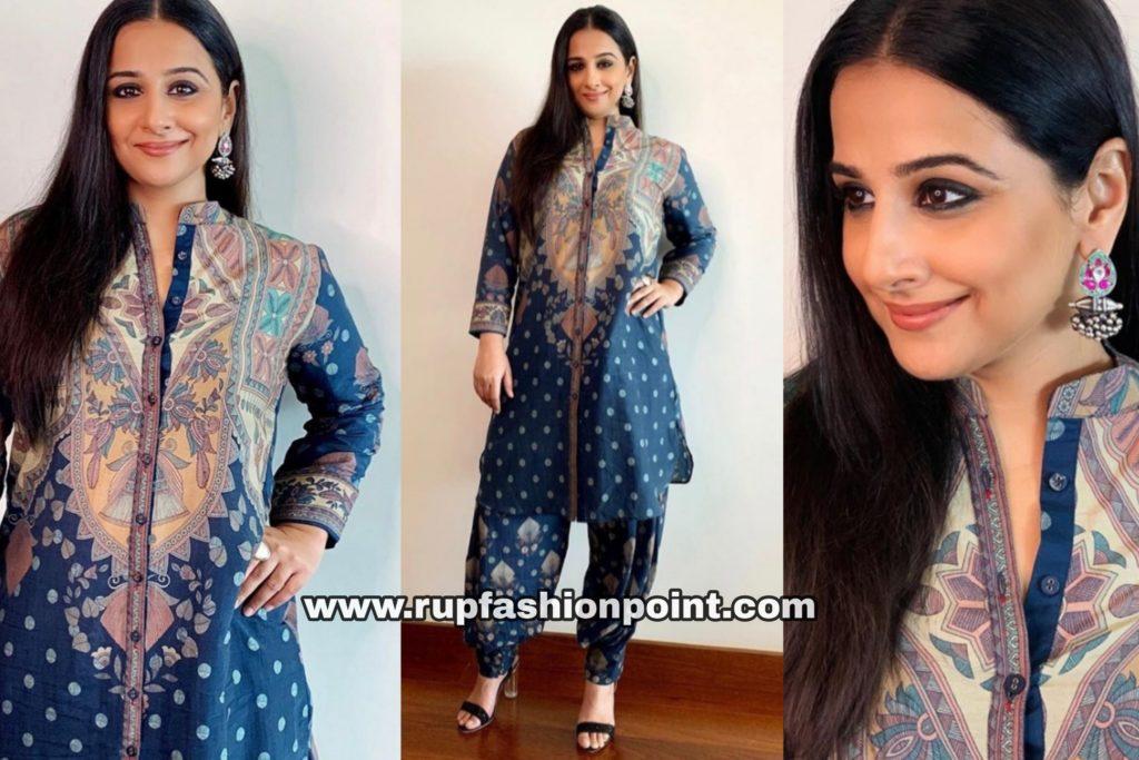 Vidya Balan in a Simple Indian Look